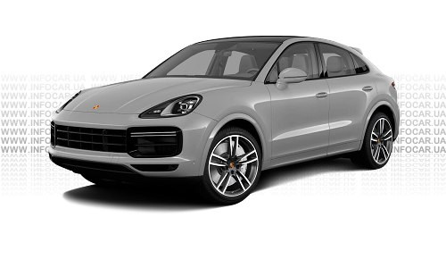 Цвета Cayenne Turbo Coupe